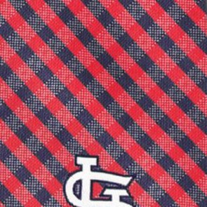 MLB - St. Louis Cardinals Gingham Necktie