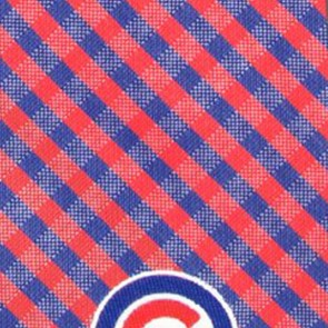 MLB - Chicago Cubs Gingham Necktie