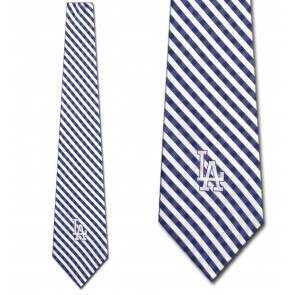 MLB - Los Angeles Dodgers Gingham Necktie