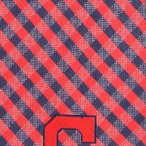 MLB - Cleveland Indians Gingham Necktie