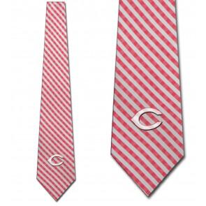MLB - Cincinnati Reds Gingham Necktie