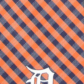 MLB - Detroit Tigers Gingham Necktie