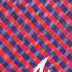 MLB - Atlanta Braves Gingham Necktie