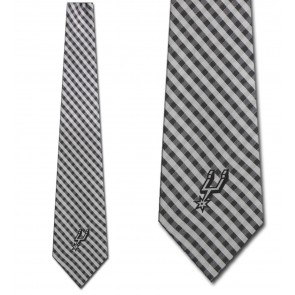 NBA - San Antonio Spurs Gingham Necktie