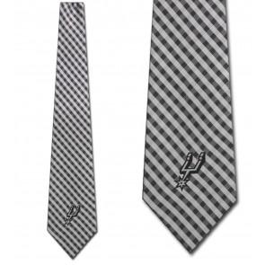 NBA - San Antonio Spurs Gingham Necktie