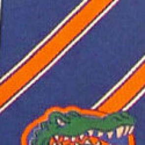 Florida Gators Poly Stripe Necktie