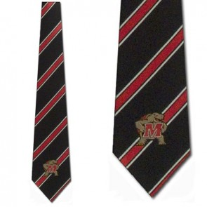 Maryland Terrapins Poly Stripe Necktie