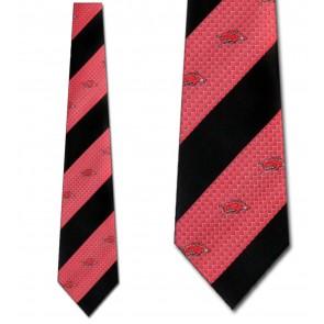 Arkansas Razorbacks Geometric Stripe Necktie