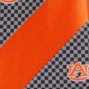 Auburn Tigers Geometric Stripe Necktie