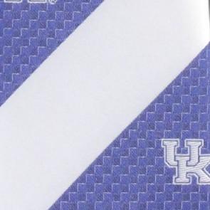 Kentucky Wildcats Geometric Stripe Necktie