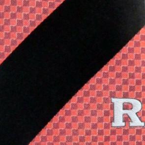 Rutgers Geometric Stripe Necktie