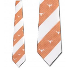 Texas Longhorns Geometric Stripe Necktie
