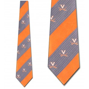 Virginia Geometric Stripe Necktie