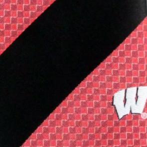 Wisconsin Geometric Stripe Necktie