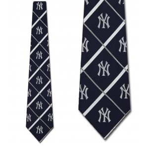 MLB New York Yankees Silver Line