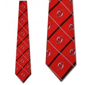 New Jersey Devils Silver Line Necktie
