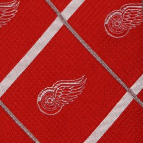NHL Detroit Red Wings Silver Line Necktie