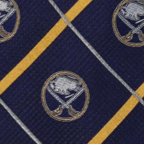 NHL Buffalo Sabres Silver Line Necktie
