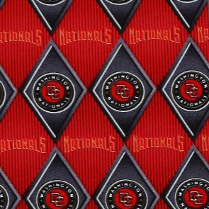 MLB - Washington Nationals Diamond Necktie