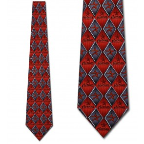 MLB - Houston Astros Diamonds Necktie
