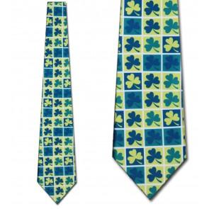 Clover Blocks Necktie