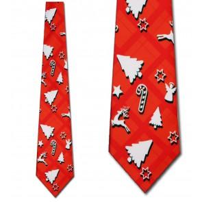 Christmas Silhouette Necktie