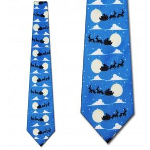 Santa's Sleigh Ride Necktie
