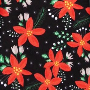 Christmas Poinsettia Allover Necktie