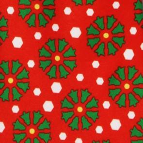 Christmas Tree Snowflakes Necktie