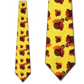Thanksgiving Turkey Necktie