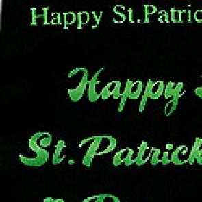 St. Patricks Day Allover Necktie