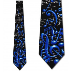 Musical Notes Necktie