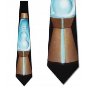 Lava Lamp Snowman Necktie