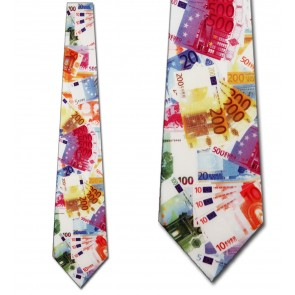 Euro Money Necktie