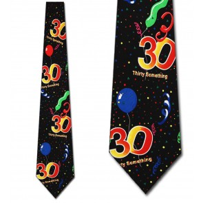 Happy Birthday - 30 Years Necktie
