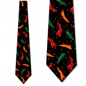 Hot Chili Peppers Necktie