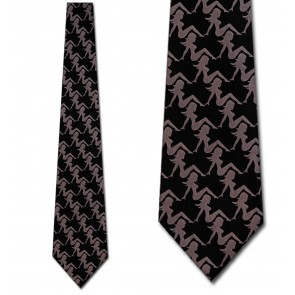 Mud Flap Lady Necktie