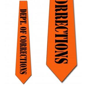 Department of Corrections Necktie