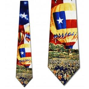 Texas Hot Air Balloons Necktie