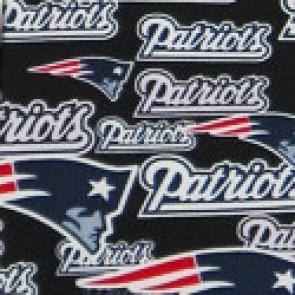 NFL New England Patriots Stamped Necktie