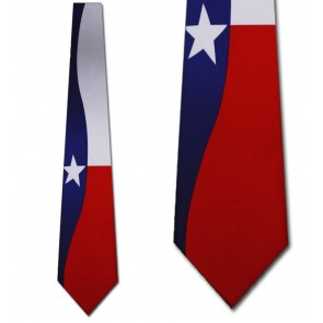 Texas Flag Necktie