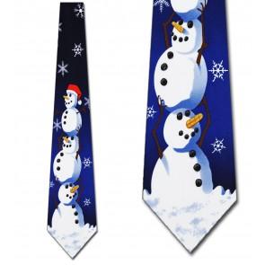 Big Snowman Necktie