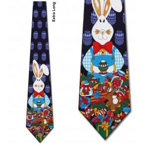 Big Bunny Extra Long Necktie