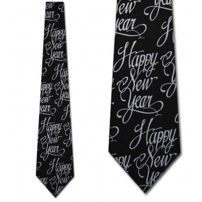 Happy New Year Necktie