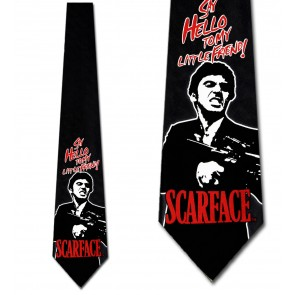 Scarface - Say Hello to My Little Friend Necktie