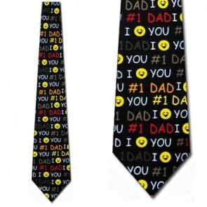 #1 Dad Smiley