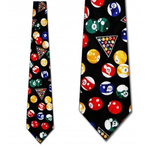 Billiard Balls Allover Necktie