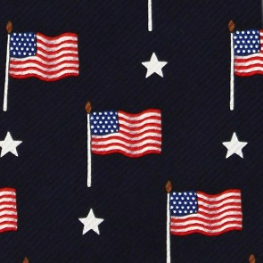 Flags and Stars Necktie