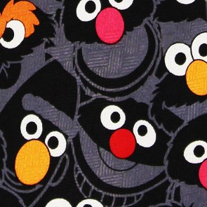 Sesame Street Characters Abstract