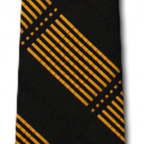 Missouri Tigers Skinny Plaid Necktie